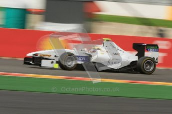 World © Octane Photographic Ltd. 2011. Belgian GP, GP3 Practice session - Saturday 27th August 2011. Gabriel Chaves of Addax Team. Digital Ref : 0204lw7d3934