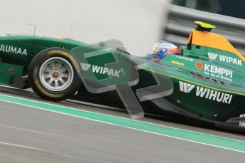 World © Octane Photographic Ltd. 2011. Belgian GP, GP3 Practice session - Saturday 27th August 2011. Valtteri Bottas of Lotus ART. Digital Ref : 0204lw7d4022