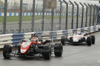 © Octane Photographic 2011 – British Formula 3 - Donington Park - Race 2. 25th September 2011. Digital Ref : 0186lw1d6553