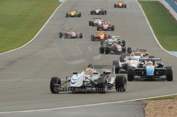 © Octane Photographic 2011 – British Formula 3 - Donington Park - Race 2. 25th September 2011. Digital Ref : 0186lw1d6647