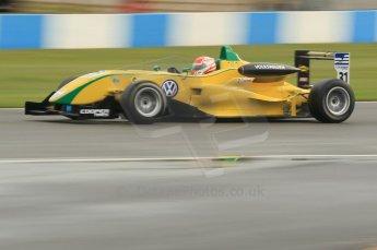 © Octane Photographic 2011 – British Formula 3 - Donington Park - Race 2. 25th September 2011, Felipe Nasr - Carlin - Dallara F308 Volkwagen. Digital Ref : 0186lw1d6977
