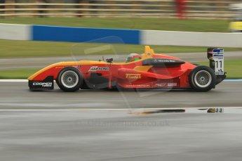 © Octane Photographic 2011 – British Formula 3 - Donington Park - Race 2. 25th September 2011. Digital Ref : 0186lw1d7047