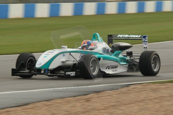 © Octane Photographic 2011 – British Formula 3 - Donington Park - Race 2. 25th September 2011. Digital Ref : 0186lw1d7117