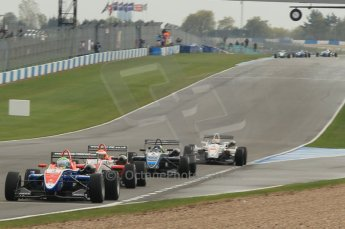 © Octane Photographic 2011 – British Formula 3 - Donington Park - Race 2. 25th September 2011. Digital Ref :