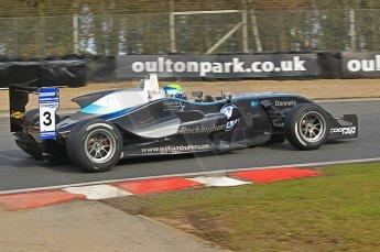 © Octane Photographic 2010. British Formula 3 Easter weekend April 3rd 2010 - Oulton Park. Hitech Racing - William Buller. Digital Ref. 0049CB1D6192