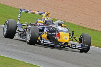 © Octane Photographic 2010. British Formula 3 Easter weekend April 5th 2010 - Oulton Park, Jean-Eric Vergne - Carlin. Digital Ref. 0049CB7D1039
