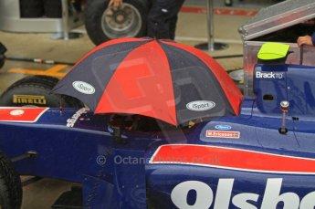 World © Octane Photographic Ltd. 2011. British GP, Silverstone, Saturday 9th July 2011. GP2 Practice Session Pit Lane. Marcus Ericsson- iSport International Digital Ref: 0108LW7D5784