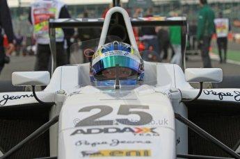 World © Octane Photographic Ltd. 2011. British GP, Silverstone, Sunday 9th July 2011. GP3 Race 2. Digital Ref: 0111LW7D6675