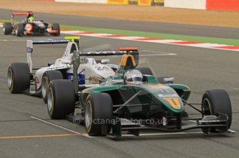 World © Octane Photographic Ltd. 2011. British GP, Silverstone, Sunday 9th July 2011. GP3 Race 2. Digital Ref: 0111LW7D6935