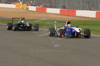 World © Octane Photographic Ltd. 2011. British GP, Silverstone, Sunday 9th July 2011. GP3 Race 2. Digital Ref: 0111LW7D6985