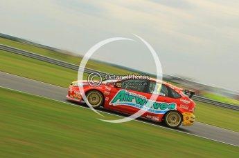 © Octane Photographic Ltd. 2011. British Touring Car Championship – Snetterton 300, Matt Jackson - Ford Focus - Airwaves Racing. Saturday 6th August 2011. Digital Ref : 0121CB1D3209