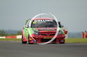 © Octane Photographic Ltd. 2011. British Touring Car Championship – Snetterton 300, Tony Gilham - Vauxhall Vectra - 888 Racing with Collins Contractors. Saturday 6th August 2011. Digital Ref : 0121CB7D8660