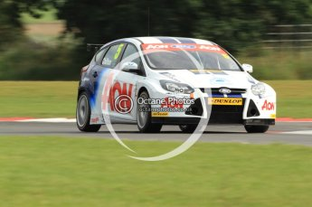 © Octane Photographic Ltd. 2011. British Touring Car Championship – Snetterton 300, Tom Chilton - Ford Focus - Team Aon. Saturday 6th August 2011. Digital Ref : 0121CB7D8802