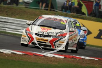 © Octane Photographic Ltd. 2011. British Touring Car Championship – Snetterton 300, Gordon Shedden - Honda Civic - Honda Racing Team. Saturday 6th August 2011. Digital Ref : 0121CB7D9467