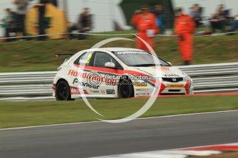 © Octane Photographic Ltd. 2011. British Touring Car Championship – Snetterton 300, Matt Neal - Honda Civic - Honda Racing Team. Saturday 6th August 2011. Digital Ref : 0121CB7D9736