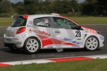 © 2011 Octane Photographic Ltd. Clio Cup - Snett - 6th August 2011. Nicholas Hamilton. Digital Ref : 0224lw7d0300