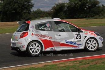 © 2011 Octane Photographic Ltd. Clio Cup - Snett - 6th August 2011. Nicholas Hamilton. Digital Ref : 0224lw7d0403