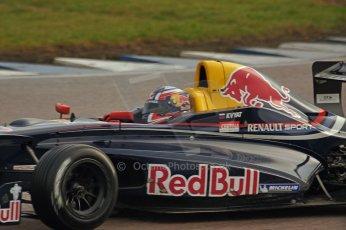 World © Octane Photographic Ltd/ Carl Jones. Daniil Kvyat Formula Renault 2.0 - Rockingham 12th November 2011 Digital ref : 0876cjsony05352.jpg