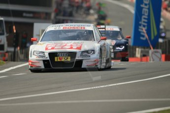 © Octane Photographic Ltd. 2011. DTM Round 7– Brands Hatch. Practice 2. Friday 2nd September 2011. Digital Ref : 0172CB1D1692