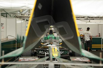 © Octane Photographic Ltd. 2011. European Formula1 GP, Friday 24th June 2011. GP2 Practice. Esteban Gutierez - Lotus ART. Digital Ref: 0082CB1D6151