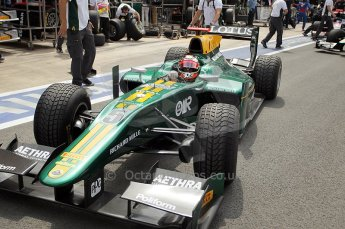 © Octane Photographic Ltd. 2011. European Formula1 GP, Friday 24th June 2011. GP2 Practice. Jules Bianchi - Lotus ART. Digital Ref: 0082CB1D6214