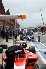 © Octane Photographic Ltd. 2011. European Formula1 GP, Friday 24th June 2011. GP2 Practice. Jolyon Palmer - Arden International, Max Chilton - Carlin. Digital Ref: 0082CB1D6234