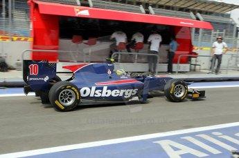 © Octane Photographic Ltd. 2011. European Formula1 GP, Friday 24th June 2011. GP2 Practice. Marcus Ericsson - iSport International. Digital Ref: 0082CB1D6250