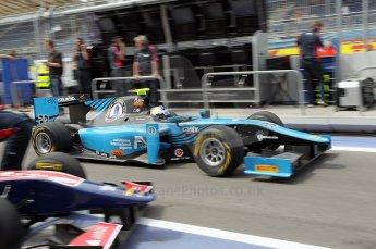 © Octane Photographic Ltd. 2011. European Formula1 GP, Friday 24th June 2011. GP2 Practice. Johnny Cecotto jnr - Ocean Racing Technology. Digital Ref: 0082CB1D6251