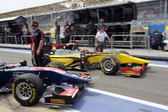 © Octane Photographic Ltd. 2011. European Formula1 GP, Friday 24th June 2011. GP2 Practice. Romain Grosjean - Dams. Digital Ref: 0082CB1D6258