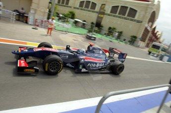 © Octane Photographic Ltd. 2011. European Formula1 GP, Friday 24th June 2011. GP2 Practice. Sam Bird - iSport International. Digital Ref: 0082CB1D6349