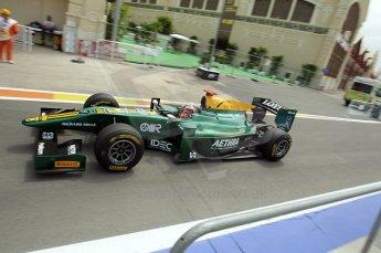 © Octane Photographic Ltd. 2011. European Formula1 GP, Friday 24th June 2011. GP2 Practice. Jules Bianchi - Lotus ART. Digital Ref: 0082CB1D6367