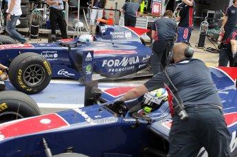 © Octane Photographic Ltd. 2011. European Formula1 GP, Friday 24th June 2011. GP2 Practice. Sam Bird and Marcus Ericsson - iSport International. Digital Ref: 0082CB1D6483
