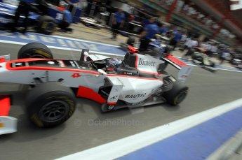 © Octane Photographic Ltd. 2011. European Formula1 GP, Friday 24th June 2011. GP2 Practice. Fabio Leimer - Rapax. Digital Ref: 0082CB1D6492