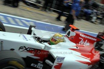 © Octane Photographic Ltd. 2011. European Formula1 GP, Friday 24th June 2011. GP2 Practice. Luiz Razia - Caterham Team AirAsia. Digital Ref: 0082CB1D6535