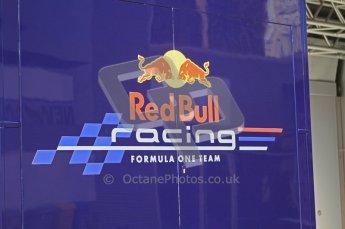© Octane Photographic Ltd. 2011. European Formula1 GP, Saturday 25th June 2011. Formula 1 paddock. Red Bull Racing Truck Digital Ref:  0087LW7D6367