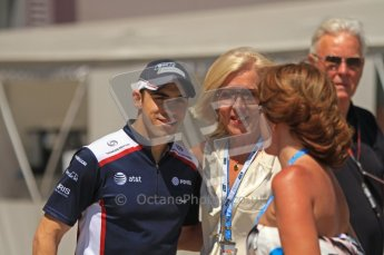 © Octane Photographic Ltd. 2011. European Formula1 GP, Sunday 26th June 2011. F1 Paddock Sunday. Pastor Maldonado - AT&T Williams Digital Ref:  0089LW7D6399