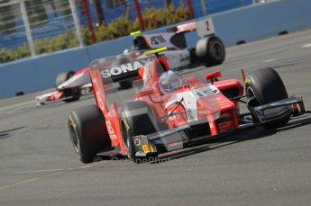 © Octane Photographic Ltd. 2011. European Formula1 GP, Sunday 26th June 2011. GP2 Sunday race. Jolyon Palmer - Arden International. Digital Ref:  0090CB1D9193