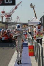 © Octane Photographic Ltd. 2011. European Formula1 GP, Sunday 26th June 2011. GP3 Sunday race. Matias Laine - Marussia Manor Racing. Digital Ref:  0091CB1D8697