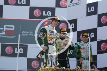 © Octane Photographic Ltd. 2011. European Formula1 GP, Sunday 26th June 2011. GP3 Sunday race. James Calado - Lotus ART. Digital Ref:  0091CB1D8950