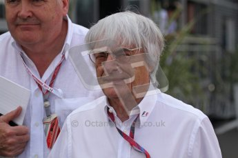 © Octane Photographic Ltd. 2011. Formula 1 World Championship – Italy – Monza – 11th September 2011. Race Day in the Paddock. Bernie Ecclestone, F1 Supremo in the paddock before the race. Digital Ref : 0193LW7D6530
