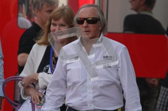 © Octane Photographic Ltd. 2011. Formula 1 World Championship – Italy – Monza – 11th September 2011. Race Day in the Paddock. Sir Jackie Stewart in the paddock before race. Digital Ref : 0193LW7D6635