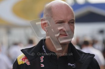 © Octane Photographic Ltd. 2011. Formula 1 World Championship – Italy – Monza – 11th September 2011. Race Day in the Paddock. Adrian Newey in the paddock this morning before the F1 race. Digital Ref : 0193LW7D6702