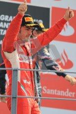 © Octane Photographic Ltd. 2011. Formula 1 World Championship – Italy – Monza – 11th September 2011 – Podium – Digital Ref : 0178CB1D4133