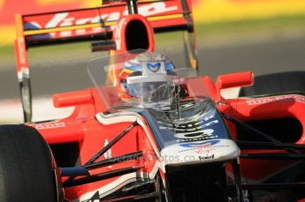 © Octane Photographic Ltd. 2011. Formula 1 World Championship – Italy – Monza – 9th September 2011 – Jerome d'Ambrosio - Virgin Marussia Racing VMR02, Free practice 1 – Digital Ref : 0173CB1D1641