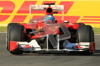 © Octane Photographic Ltd. 2011. Formula 1 World Championship – Italy – Monza – 9th September 2011 –   Fernando Alonso - Ferrari F150, Free practice 1 – Digital Ref :  0173CB1D1663