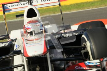 © Octane Photographic Ltd. 2011. Formula 1 World Championship – Italy – Monza – 9th September 2011 – Kamui Kobayashi - Sauber C30, Free practice 1 – Digital Ref : 0173CB1D1691