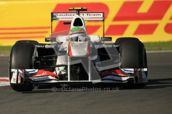 © Octane Photographic Ltd. 2011. Formula 1 World Championship – Italy – Monza – 9th September 2011 – Sergio Perez, Sauber C30 - Free practice 1 – Digital Ref :  0173CB1D1723