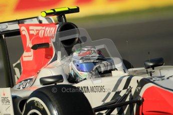 © Octane Photographic Ltd. 2011. Formula 1 World Championship – Italy – Monza – 9th September 2011 –  Viantonio Liutzi, HRT F111 - Free practice 1 – Digital Ref :  0173CB1D1728