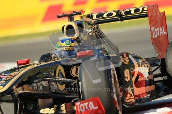 © Octane Photographic Ltd. 2011. Formula 1 World Championship – Italy – Monza – 9th September 2011 – Bruno Senna - Renault R31,  Free practice 1 – Digital Ref :  0173CB1D1748