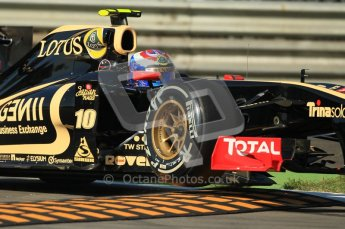 © Octane Photographic Ltd. 2011. Formula 1 World Championship – Italy – Monza – 9th September 2011 – Vitaly Petrov - Renault R31 - Free practice 1 – Digital Ref : 0173CB1D1792